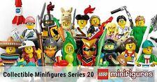 LEGO 71027 MINIFIGURES SERIE 20 scegli il personaggio
