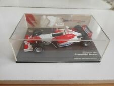 Minichamps F1 Formula 1 Toyota TF102 Promotional Showcar in Red/White - 1:43 Box