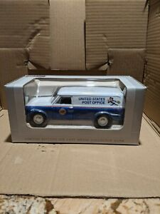 1967 Chevy Panel Post Office Truck Die Cast collector coin bank