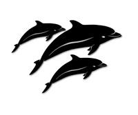 Delfine dolphins Delphine Aufkleber Autoaufkleber Sticker Meer decal 24 #8115