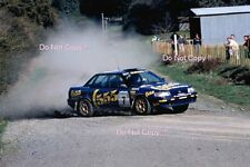 Colin McRAE SUBARU LEGACY RS vainqueur New Zealand Rally 1993 Photographie 3