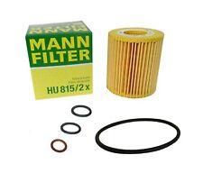 Original MANN Ölfilter HU815/2x für BMW 1, 3, 5,  X1, X3, Z4