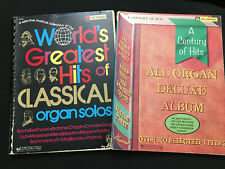 ALL ORGAN  Deluxe Album and World's Greatest Hits of Classical Organ Solos