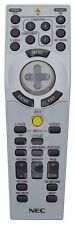 NEC RD433E 7N900802 Projector Remote NP1150NP1250NP2150NP3150NP3250W =7N900801