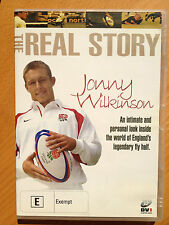 THE REAL STORY~JONNY WILKINSON RUGBY DVD NEWCASTLE FALCONS + ENGLAND'S THE LIONS