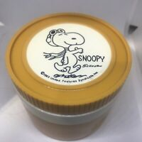 Vintage Snoopy Thermos 1965 Schulz Red Baron Small Soup Jar Peanuts Insulated