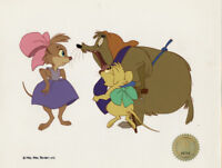 Secret of NIMH Don Bluth 1982 production animation cell LJE Seal COA 11