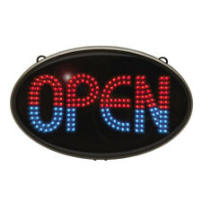 Green Light Innovations Classic Led Open Sign w/ Remote, 7 Functions (Gli1040)