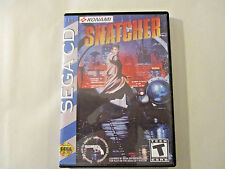 Snatcher CUSTOM SEGA CD CASE (NO GAME)