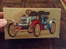Avon Stanley Steemer blue car with box