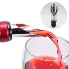 2 PCS BOUCHON BEC VERSEUR anti gouttes pour bouteille de vin en acier inoxydable