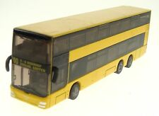 Collectible Model Bus Double Deck Man Berlin Germany S + U Bahnhof Nr 7316