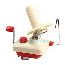 Hand Operated Knitting Roll Fiber String Yarn Wool Ball Machine Winder Holder