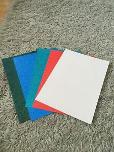 glitter card stock different colours pack of 5