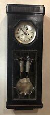 German Art Deco Hanging Gustav Becker Weight Driven Vienna Regulator Wall Clock