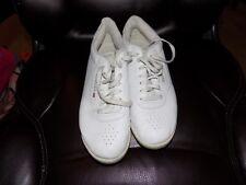 8e6e46ed10e REEBOK CLASSIC 2-1475 PRINCESS WHITE WHITE SHOES SIZE 10 WOMEN S EUC