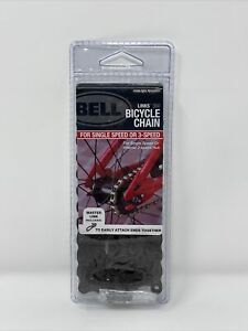 """BELL LINKS 300 Bicycle Chain Single for Single OR 3-Speed 1/2"""" X 1/8"""" BRAND NEW"""