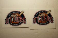 "(2) Evansville Otters (2.5"") Diy Stickers Decals Great for Yeti"