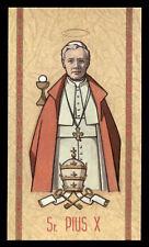 santino-holy card ediz. FB serie heavenly n.39 S.PIO X PAPA