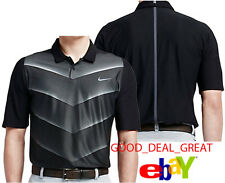 New Nike Tiger Woods Tw Vl Max Hypercool Fade Polo Shirt 726203-010 > Size Xl
