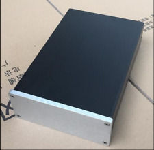 Full aluminum HIFI amp enclosure psu case headphone preamp chassis 172*60*251mm
