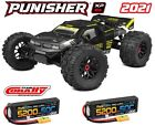 Corally Punisher XP 6S 1/8 Monster Truck LWB RTR Brushless + 3s 50c Lipo X2