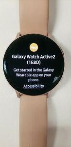 samsung galaxy watch active 2 Rose Gold Pink Band       ===Fast Free Shipping===