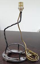 LAMPE DE BUREAU CHEVET METAL AVEC FER A CHEVAL