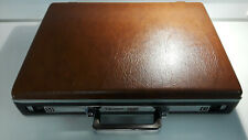 Vintage 1980's Omega Samsonite Hard Shell Briefcase w/Combination Lock