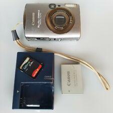 Canon PowerShot SD800 IS 7.1MP Digital Camera w/3.8x Zoom  w/ 2.0 GB disk