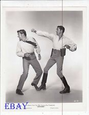 Tyrone Power punches man Untamed VINTAGE Photo