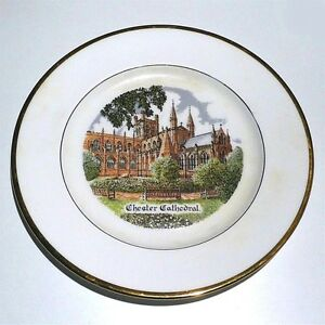 Chester Cathedral Bone China Wandteller  20 cm