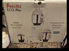 Preethi Eco Plus 110 Volts Mixer Grinder USA Adapter Plug free shipping