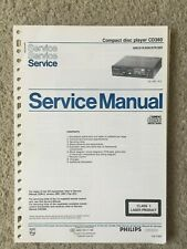 Service Manual Compact Disc CD Player CD360 COMPLETE