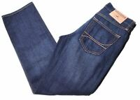 HOLLISTER Mens Jeans W28 L30 Blue Cotton Straight  JI08