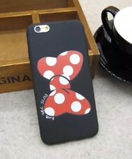 Disney Minnie Mouse Bow Silicone Gel iPhone 6/6s Case Cover. Xmas