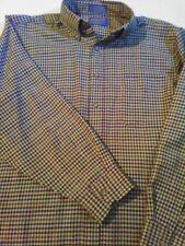 SIR PENDLETON Virgin Wool Shirt Mens Size Large Vintage Blue Tag