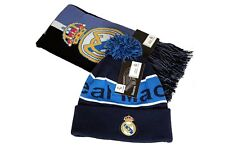 Real Madrid C.F. Official Licensed Product Soccer Scarf Beanie Combo - 02