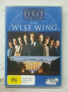 The West Wing Complete First Season 1 (DVD SET) OVER 15 HOURS ! Region 4 Aust
