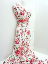 TRENDY Jersey ,Baumwolle, Blumen , Meterware,Kleiderstoff,Multicolor,rot,grün