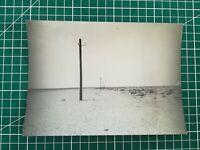 FF606 Photo presse circa 1950 Ligne télégraphique dans le sud, Vietnam
