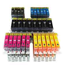 Cartuchos 30x para Canon PIXMA ip4850 mg5150 mg5250 mg6150 mg8150 mx885 ix6550 3t