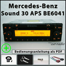 Original Mercedes Sound 30 APS BE6041 Becker Navigationssystem A0028205426 Set
