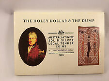 1988 $1 and 25c Silver - The Holey Dollar and Dump Set