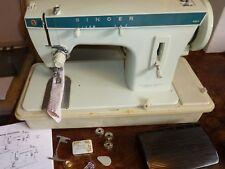 SINGER 257 Zig-Zag/punto dritto macchina per cucire elettrica con le istruzioni