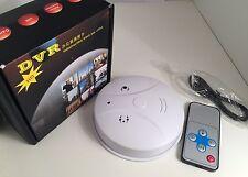 HD Mini 32GB Spy Camera Cam Smoke Alarm Detector Video DVR Nanny Hidden Motion