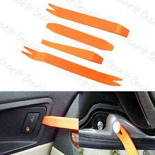 4X Car Door Plastic Trim Panel Clip Dash Radio Removal Pry Tools Kit Plastic