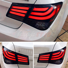 2 Pcs Black LED Tail Lights For 2009-2013 Chevrolet Cruze Rear Lamps Assembly