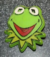 Vtg Hallmark St Patrick's Day Jim Henson Kermit the Frog Irish Pin Brooch 1978