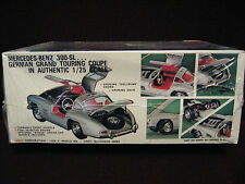 SEALED 1968 Vintage '55 Mercedes-Benz 300SL Gullwing Coupe Model/Kit AMT US T412